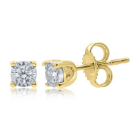 Diamond Earrrings (9ct Gold)
