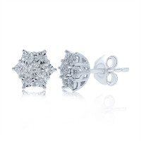 Diamond Earrrings (9ct Gold)