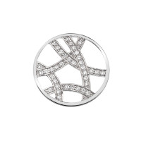 Emozioni  33mm Ice Sparkle Arc Coin EC035