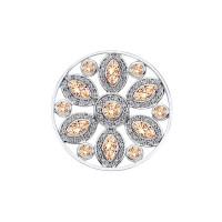 Emozioni 33mm Girasole Champagne Coin EC389