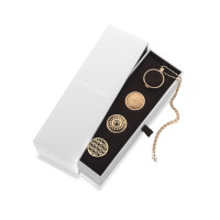 Emozioni Collectors Edition Rose Gold & Sterling Silver 33mm Box Set ES019