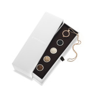 Emozioni Collectors Edition Faux Leather Rose Gold & Sterling Silver 25mm Box Set ES020
