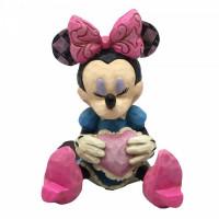Minnie Mouse with Heart Mini Figurine 4054285