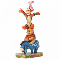 Built By Friendship (Eeyore, Pooh, Tigger and Piglet Figurine 4055413