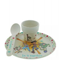 Disney Enchanting A29966 Toy Story 4 Bamboo Egg Cup Set