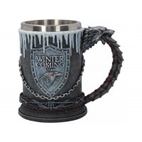Game Of Thrones House Stark Tankard B3702J7