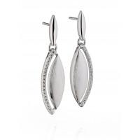 Fiorelli Silver And CZ Marquise Drops E5185C