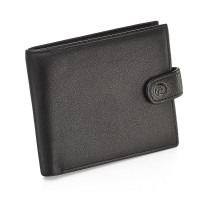 Fred Bennet Black Leather Wallet with Coin Purse & Gift Box W014