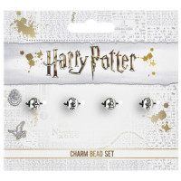 Harry Potter Silver Plated Spell Bead Charm Set HP0072