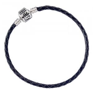 Harry Potter Black Leather Bracelet for Slider Charms - HP0029
