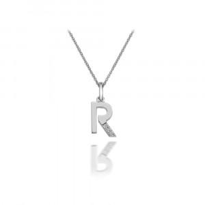 HOT DIAMONDS 'R' Micro Pendant DP418