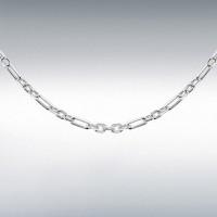 Silver Diamond Cut Figaro Belcher Chain IB-8150063