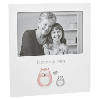 Cut Out Owl Frame I Love Nan 270540