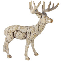 Driftwood Stag Large Resin LP45994