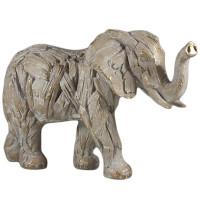 Driftwood Elephant Resin LP45996