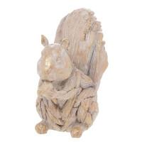 Driftwood Squirrel Resin LP46455