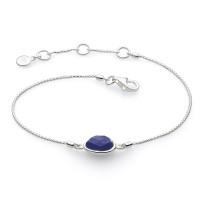 Silver Coast Pebble Stone Mini Bracelet 71802LP