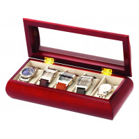Mele & Co Brown Watch Box