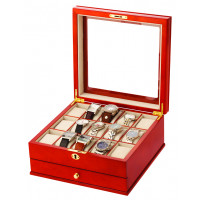 Mele & Co Lockable Watch Box