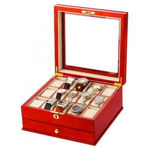 Mele & Co Lockable Watch Box