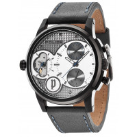 Police Diamondback Grey Gents Strap Watch 14376JSB/04