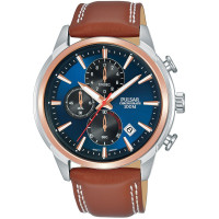 Pulsar Gents Chronograph Strap Watch PM3120X1
