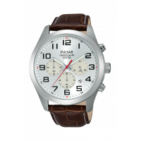 Pulsar Gents Chronograph Strap Watch PT3663X1