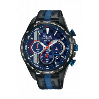 Pulsar World Rally Championship Chrono Strap Watch PZ5047X1