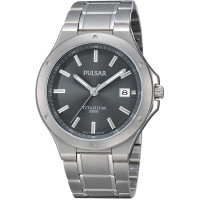 Pulsar Gents Titanium Bracelet Watch PS9125X1