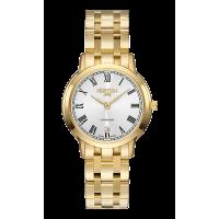 Roamer Ladies Gold Plated Superslender Watch 515811-48-22-50