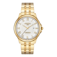 Roamer Gents Gold Plated Windsor Watch 706856-48-12-70