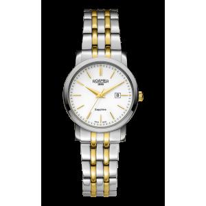 Roamer Ladies Two Tone Classic Line Bracelet Watch 709844-47-25-70