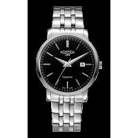 Roamer Gents Classic Line Steel Black Dial Bracelet Watch 709856-41-55-70