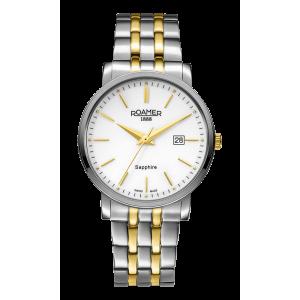 Roamer Gents Two Tone Classic Line Bracelet Watch 709856-47-25-70