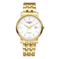 Roamer Gents Gold Plated Classic Line Bracelet Watch 709856-48-25-70