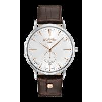 Roamer Gents Vanguard Slimline White Dial Brown Strap Watch 980812-40-15-09