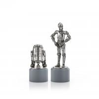 Star Wars Royal Selangor Pewter R2-D2 & C-3PO  Pair 0179002R