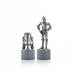 Star Wars Royal Selangor Pewter R2-D2 & C-3PO  Pair 0179002R