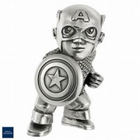 Captain America Mini Pewter Figure by Royal Selangor 017943R