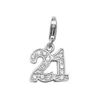 Silver 21 Pendant