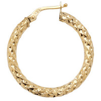 9ct Gold Hoop Earrings