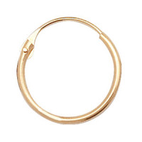9ct Gold Sleeper Hoops