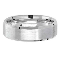 Silver Satin 6mm Wedding Ring G7181