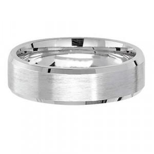 Silver Satin 6mm Wedding Ring G7181