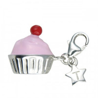 Tingle Silver Pink Cupcake SCH177