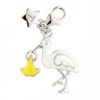 Tingle Silver Stork & Baby SCH204