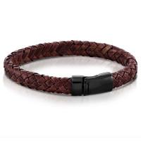 Walton Desgins Laing Vintage Burgundy Gents Bracelet