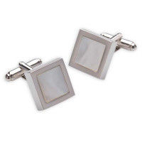 Walton Design Mensa Mother Of Pearl Cufflinks