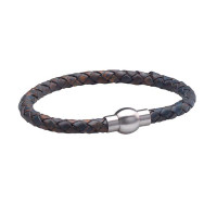 Walton Designs Rapper Vintage Blue Gents Bracelet