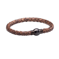 Walton Designs Rapper Vintage Brown Gents Bracelet